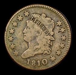 1810/09 1C S-281, MS, BN