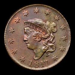 1817 1C, 13 Stars, N-14, MS, BN