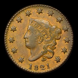 1821 1C, N-2, R.1, MS, BN