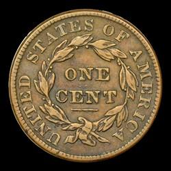 1837 1C Plain Cords, Medium Letters, N-7, N-8, MS, BN