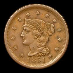 1851 1C, MS, BN