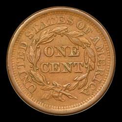 1856 1C Upright 5, N-10, MS, BN