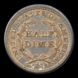 1843 H10C Repunched Date FS-301, MS
