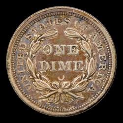 1854-O 10C ARROWS