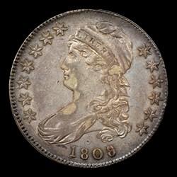 1808/7 50C O-101, MS
