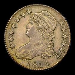 1814 50C O-104a, MS
