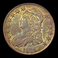 1826 50C O-109, MS