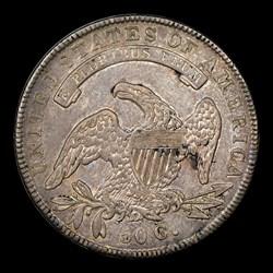 1836 50C O-109, MS
