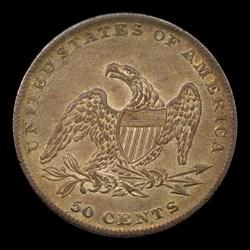 1837 50C Reeded Edge, MS