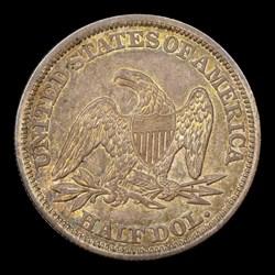 1842 50C Medium Date, MS