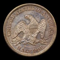 1854 50C Arrows, MS