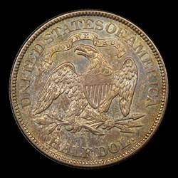 1873-S 50C Arrows, MS