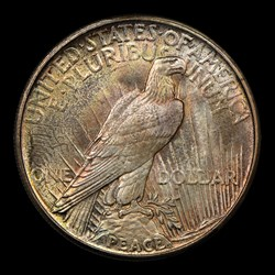 1921 S$1 Peace, MS