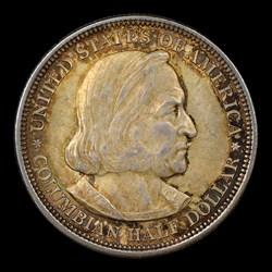 1893 50C COLUMBIAN