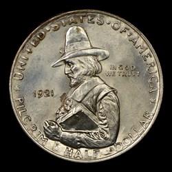 1921 50C Pilgrim, MS