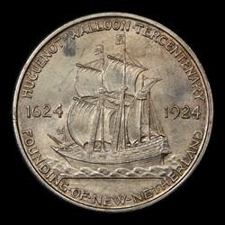 1924 50C Huguenot, MS
