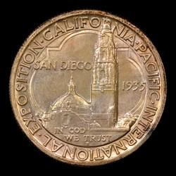 1935-S 50C San Diego, MS