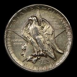 1935-S 50C Texas, MS