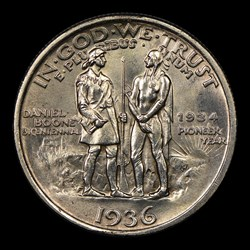 1936 50C Boone, MS