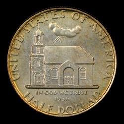 1936 50C Delaware, MS