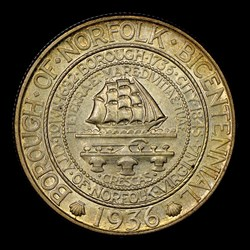 1936 50C Norfolk, MS