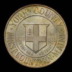 1936 50C York, MS