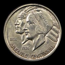 1936-D 50C Arkansas, MS