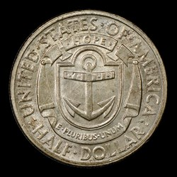 1936-S 50C Rhode Island, MS