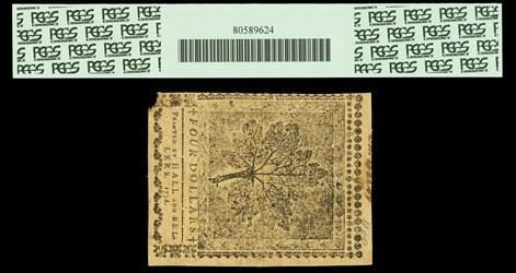 April 11, 1778 $4