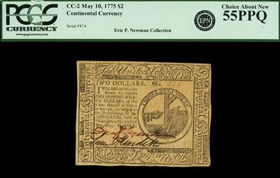 May 10, 1775 $2
