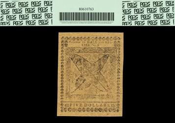 April 11, 1778 $5