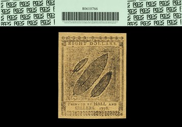 April 11, 1778 $8