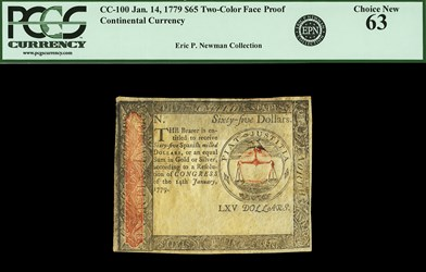 January 14, 1779 $65
