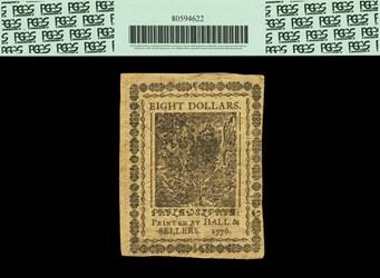 February 17, 1776 $8