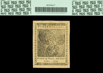 January 14, 1779 $3