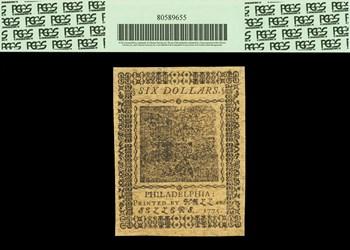 November 29, 1775 $6