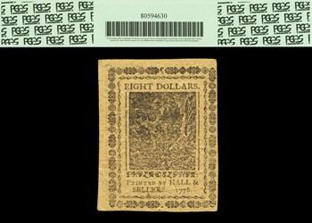 July 22, 1776 $8