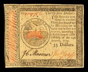 January 14, 1779 $35