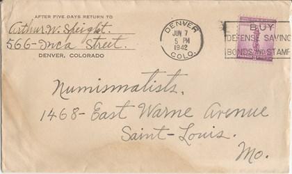 Wayne Homren Numismatic Postcards (Sanguinetti)