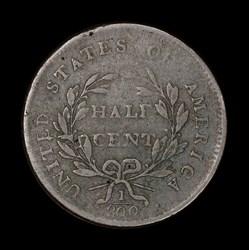 Half Cent 1800