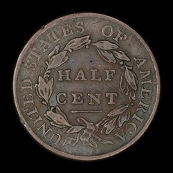 Half Cent 1809