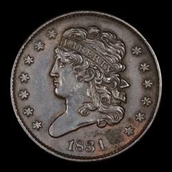 Half Cent 1831