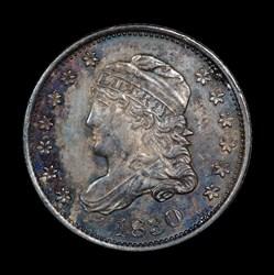 Half Dime 1830