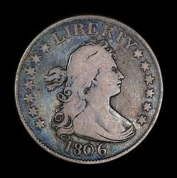 Quarter dollar 1806
