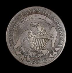 Quarter dollar 1818