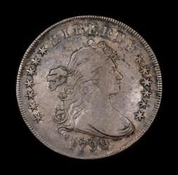 Silver Dollar 1799