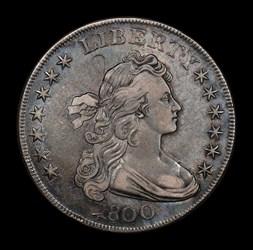 Silver Dollar 1800