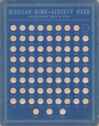 Coin Boards (Whitman 2nd Edition, 10c - 25c)
