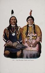 Chief Buckskin Charlie and Squaw