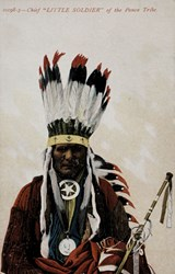 """10198-3- Chief """"Little Soldier"""" of the Ponca Tribe"""